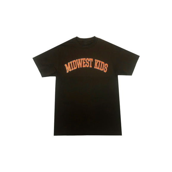 MWK Logo Tee (Brown/Orange)