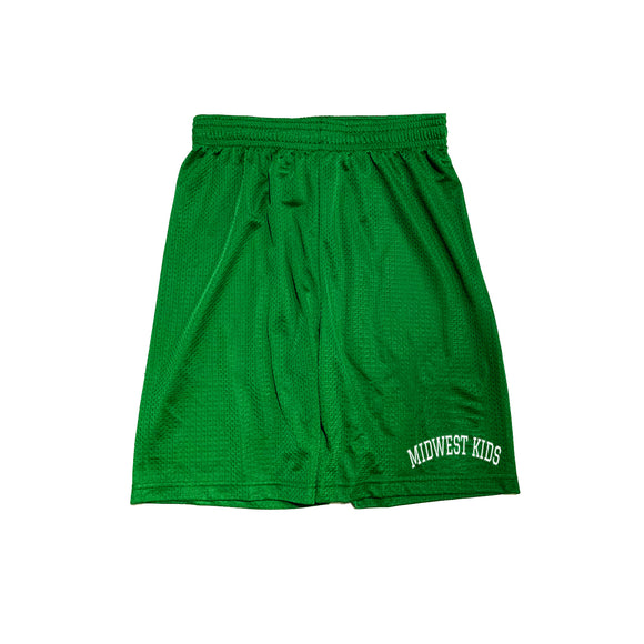 Midwest Kids Shorts (Green)