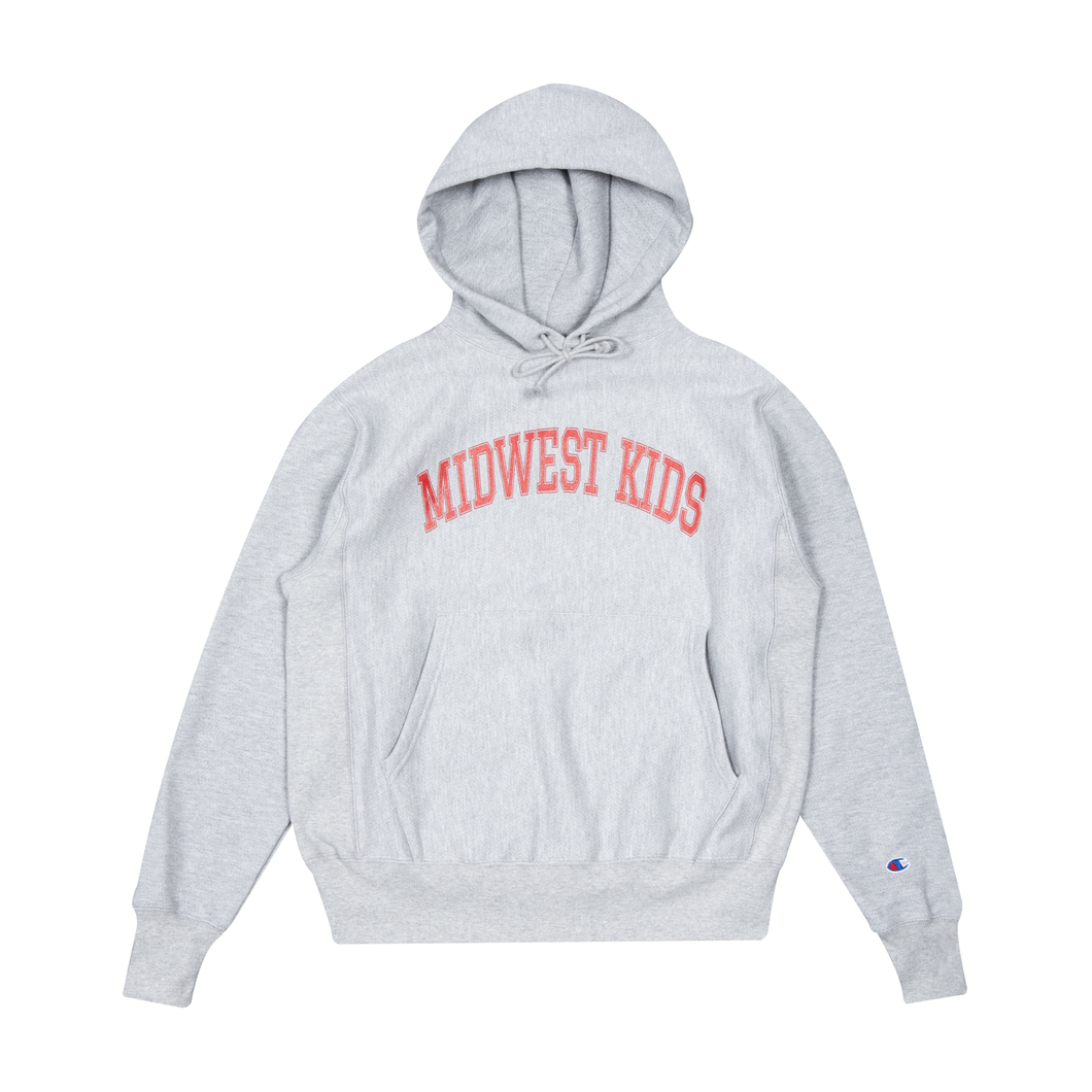 Midwest Kids Hooded Sweatshirt (Heather)