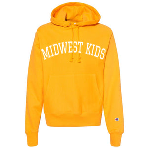 MIDWEST KIDS RW STITCHED HOODED SWEATSHIRT (YELLOW)