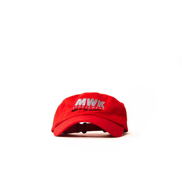 MWK Sportswear Dad Hat (Red)