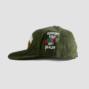 Midwest Kids x ILTHY Cord Cap (Olive Green)
