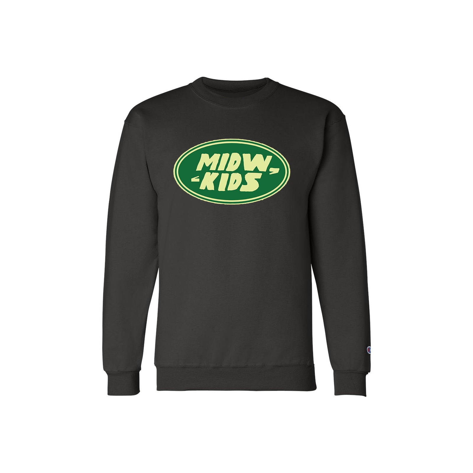 MWK RR Crewneck Sweater (Black)