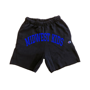 MWK Reverse Weave Short (Royal)