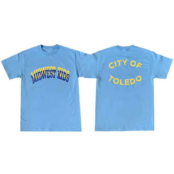 MWK City of Toledo Tee (Walleye Blue)