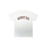 MWK Logo Tee (Wht/Brown/Orange)