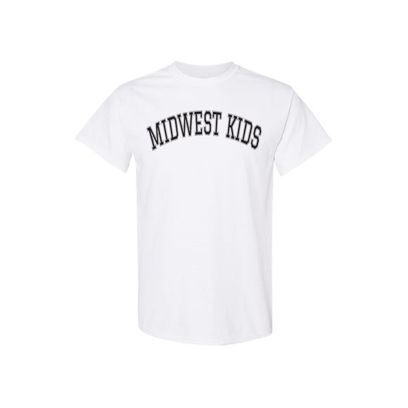 Midwest Kids Tee (Wht/Blk)