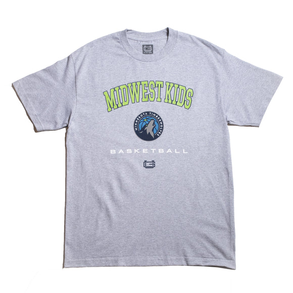 Midwest Kids x Ultragame Timberwolves Tee