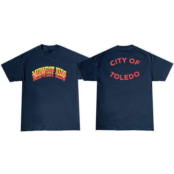 MWK City of Toledo Tee (Navy)