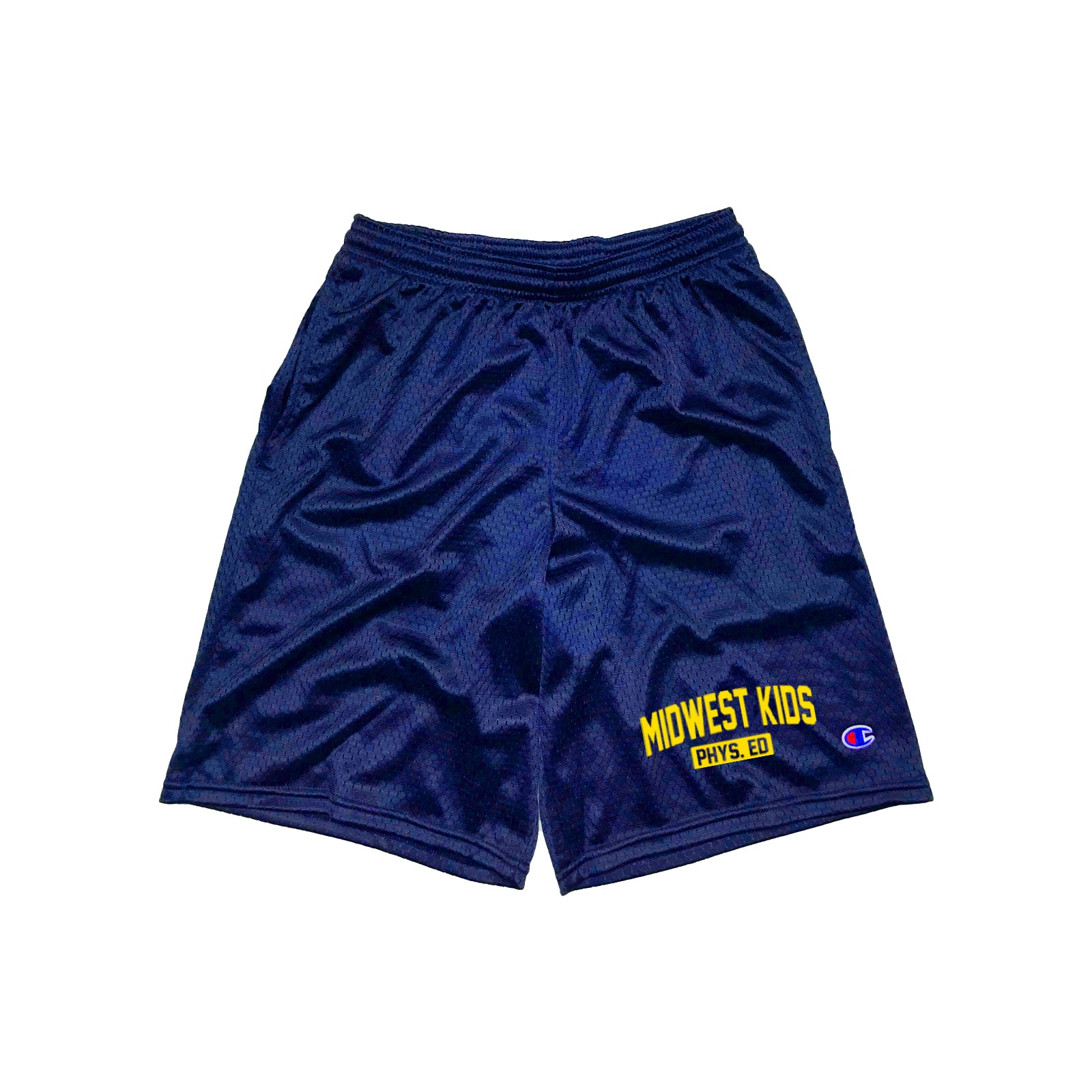 MWK Phys. Ed Shorts (Navy)