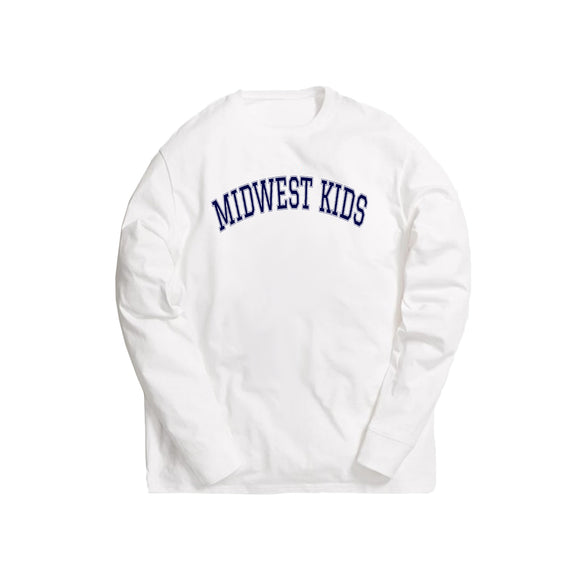Midwest Kids L/S Tee (Navy)