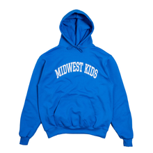Load image into Gallery viewer, Midwest Kids Hoodie (Royal)