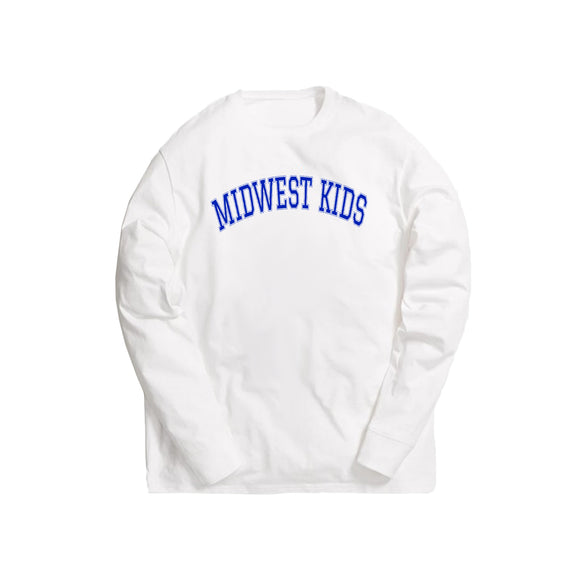 Midwest Kids L/S Tee (Royal)
