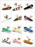 Natural Quartz Smoking Pipe with Metal Filter