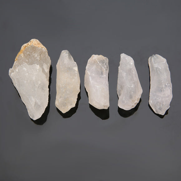 50g Natural Rough Raw White Quartz Healing Stone 4-6cm