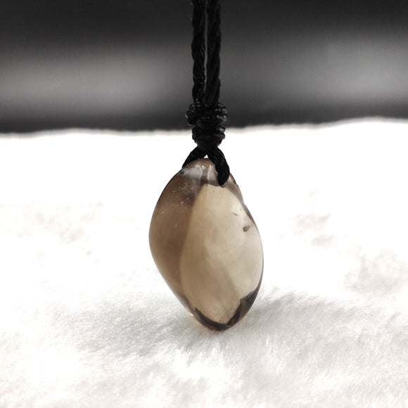 Natural Smoky Quartz Irregular Pendant for Healing