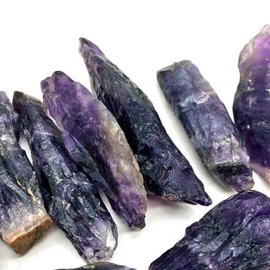 Raw Dark Amethyst For Chakra Healing