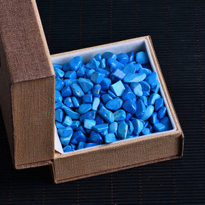 50g Natural Turquoise Gravel for Healing