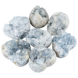 Hidden JuJu - Celestite brings harmony and balance to our lives. It's a premier stone in helping the holder find and maintain inner peace.