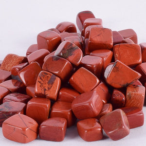 230g Tumbled Red Jasper Stones for Healing