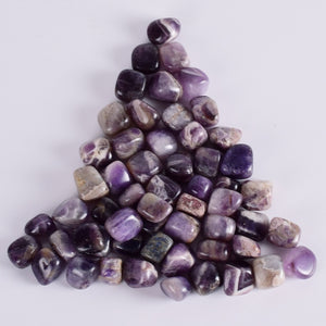 230g Tumbled Amethyst Stones for Healing