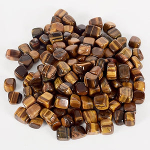 230g Tumbled Tiger's Eye Stones for Healing