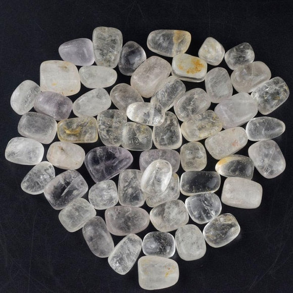 230g Tumbled Rock Quartz Stones for Healing