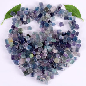 230g Tumbled Fluorite Stones for Healing