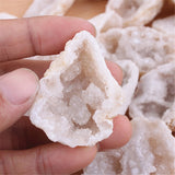 1pc Raw Irregular Druzy Quartz Agate Geode - Perfect for Home Decor