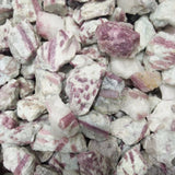 100g Raw Rubellite Rough Stone Red Tourmaline Crystal