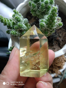 Citrine Quartz Healing Tower 45g