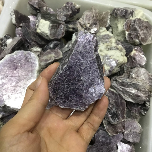 Natural Purple Mica Stone