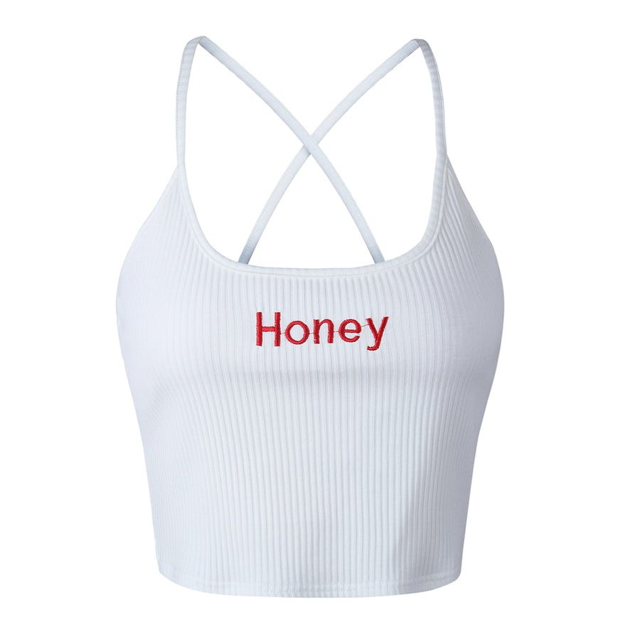 Blusa Cropped Honey