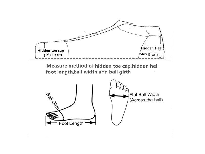 how to measure foot length ball width ball girth