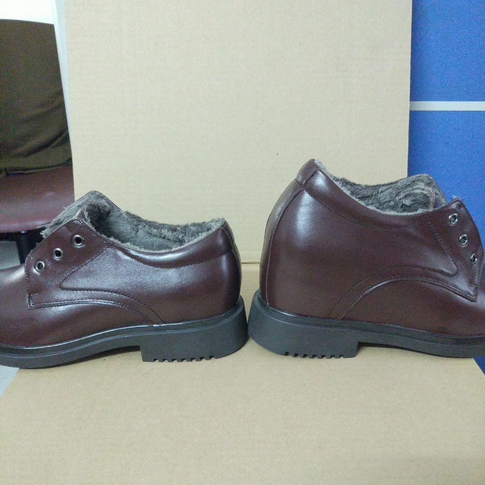 LLD shoes with wool lining