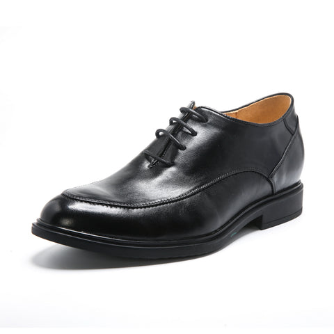 JGL Handmade Breathable Mens Height Increasing Shoes With Genuine Leather
