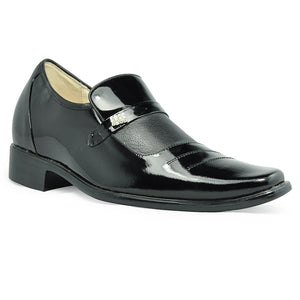 Men's Shoes Comfort Low Heel Leather Elevator  Shoes