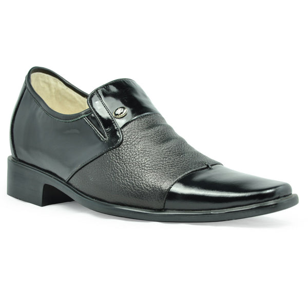 Elevator shoes suits in wedding party or meeting