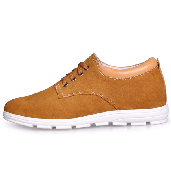 Drop Shipping Wholesale Retail Cowhide Mens Height Increasing Shoes