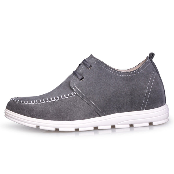 JGL Modern Fashion Best 2 Inch Elevator Men's Suede Elevator Shoes Online