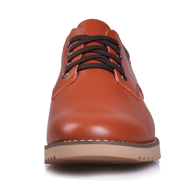 Highest quality leather mans elevator shoes that give you height