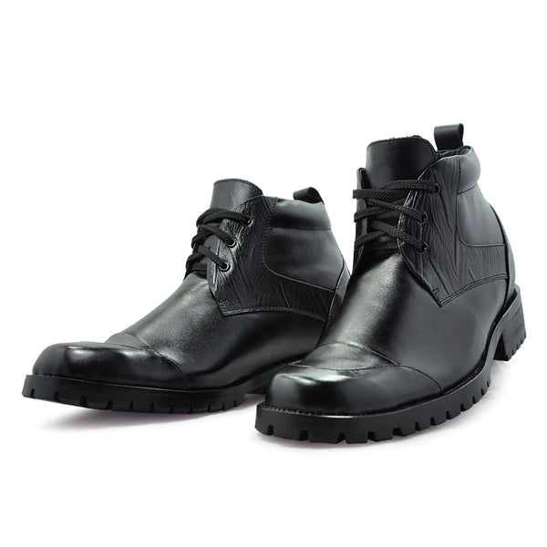 Genuine Leather Comfortable Elevator shoes for man