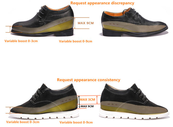 Corrective shoe lifts for uneven legs