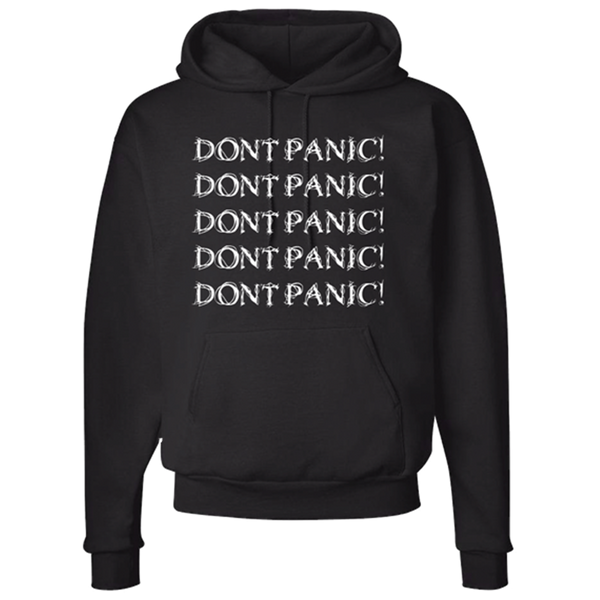 DON'T PANIC PULLOVER HOODIE