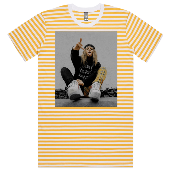 Striped Photo Tee