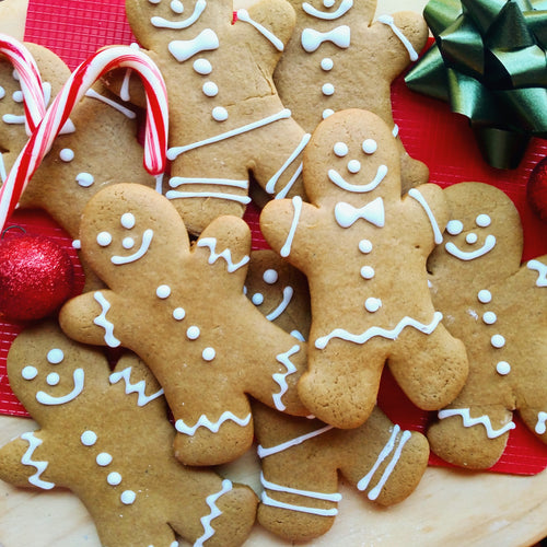 Classic Holiday Gingerbread Men