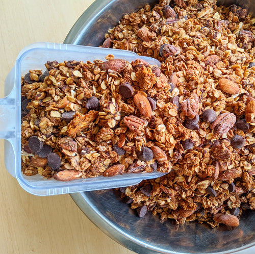 Dark Chocolate Mocha Granola (12oz)