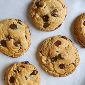 Chocolate Chip Peanut Butter Cookies (6 pack)