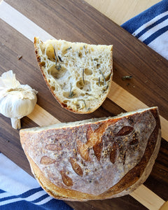 Garlic & Garden Herb Sourdough