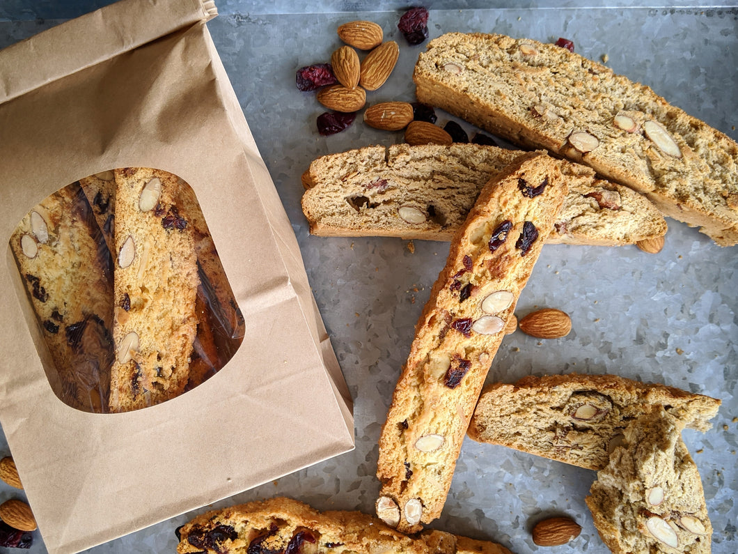 Cranberry Almond Biscotti (4 pack)